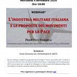 L'industria militare italiana e le proposte dei movimenti per la Pace
