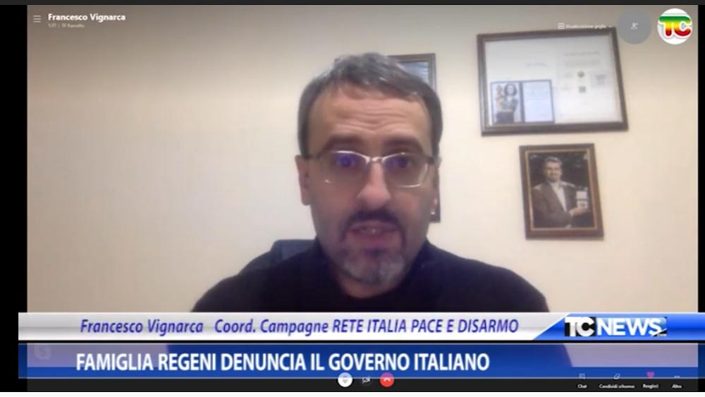 La famiglia Regeni denuncia il Governo italiano