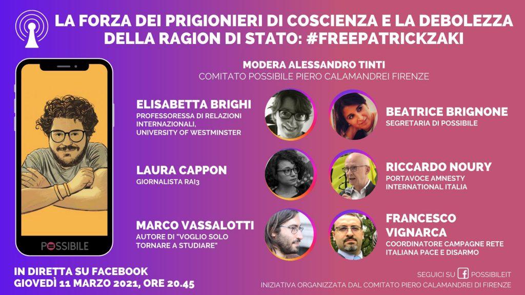 Patrick Zaki: la forza dei prigionieri di coscienza e la debolezza della ragion di stato