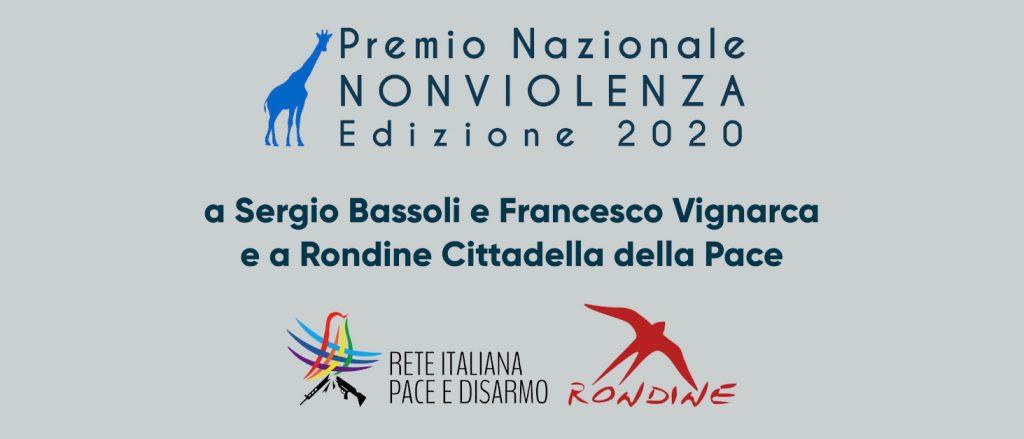 Consegna del Premio Nazionale Nonviolenza 2020 a Sansepolcro – 25 settembre 2021
